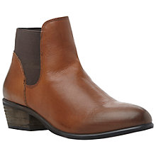 Buy Steve Madden Rosemare Leather Ankle Boots Online at johnlewis.com