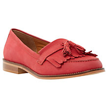 Buy Dune Goosie Fringe Tassel Leather Loafers Online at johnlewis.com