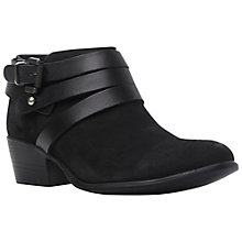 Buy Steve Madden Regennt Leather Ankle Boots Online at johnlewis.com