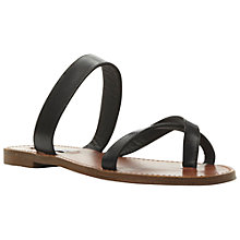 Buy Steve Madden Aintso Leather Sandals Online at johnlewis.com