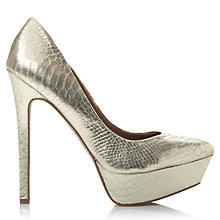 Buy Steve Madden Artist Platform Heeled Court Shoes Online at johnlewis.com