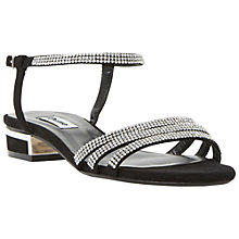 Buy Dune Nelli Suede Diamante Sandals Online at johnlewis.com