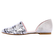 Buy Unisa Anais Flat Cut Away Pumps Online at johnlewis.com