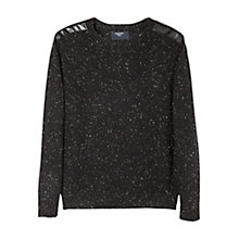 Buy Mango Kids Boys' Knit Jumper, Black Online at johnlewis.com