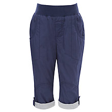 Buy John Lewis Boy Roll Up 3/4 Length Trousers, Indigo Online at johnlewis.com