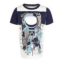 Buy John Lewis Boy Astronaut Graphic T-Shirt, Multi Online at johnlewis.com