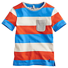 Buy Little Joule Boys' Olly Bold Stripe T-Shirt Online at johnlewis.com