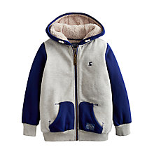 Buy Little Joule Boys' Conlan Sweatshirt, Grey Online at johnlewis.com