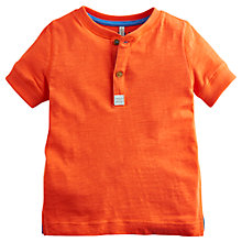 Buy Little Joule Boys' Somerby Jersey T-Shirt, Tomato Online at johnlewis.com