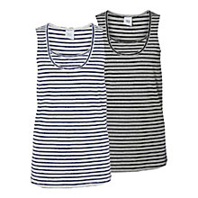 Buy Mamalicious Sophia Nell Striped Tank Top, Pack of 2, Multi Online at johnlewis.com