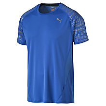 Buy Puma Nightcat Illuminate Running T-Shirt, Blue Online at johnlewis.com