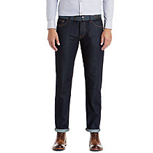 Buy Ted Baker Oakdale Straight Jeans, Rinse Denim Online at johnlewis.com