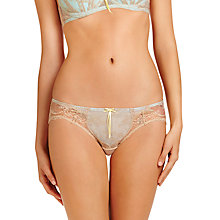 Buy Heidi Klum Intimates Heidi Bikini Briefs, Cement / Clear Water Online at johnlewis.com