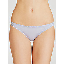 Buy Calvin Klein Seductive Comfort Briefs, Fresh Water Online at johnlewis.com