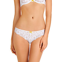 Buy Heidi Klum Intimates Belle et Blues Bikini Briefs, White Online at johnlewis.com