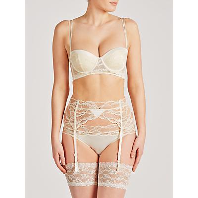 Calvin Klein Black Striking Bridal Suspender, Ivory