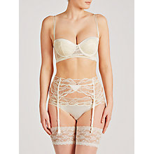 Buy Calvin Klein Black Striking Bridal Suspender, Ivory Online at johnlewis.com