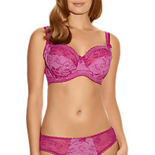 Buy Fantasie Susanna Full Cup Bra, Fuchsia Online at johnlewis.com