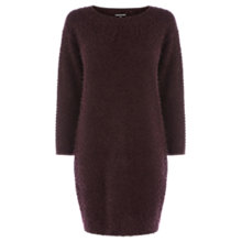 Buy Warehouse Simple Dress, Dark Red Online at johnlewis.com