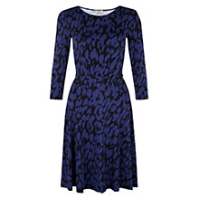 Buy Hobbs Nathalie Dress, Navy / China Blue Online at johnlewis.com