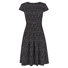 Buy Hobbs Lottie Dress, Navy Ivory Online at johnlewis.com