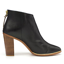 Buy Ted Baker Lorca Leather Block Heeled Ankle Boots Online at johnlewis.com