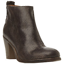 Buy Dune Black Phillie Leather Ankle Boot Online at johnlewis.com