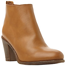Buy Dune Phillie Leather Ankle Boot Online at johnlewis.com