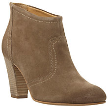 Buy Dune Black Poppey Suede Ankle Boots Online at johnlewis.com