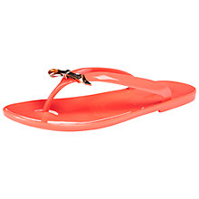 Buy Ted Baker Heebei Jelly Flip Flops, Orange Online at johnlewis.com