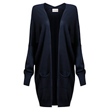 Buy East Merino Wool Pocket Cardigan, Indigo Online at johnlewis.com