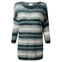 Buy East Space Dye Oversized Jumper, Indigo Online at johnlewis.com