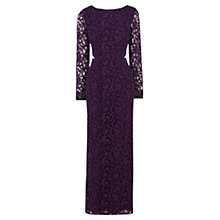 Buy Coast Petite Romilla Maxi Dress, Grape Online at johnlewis.com
