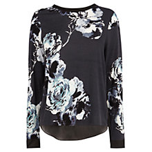 Buy Coast Akoni Top, Black/White Online at johnlewis.com