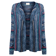 Buy East Space Dye Cardigan, Indigo Online at johnlewis.com