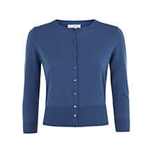 Buy Hobbs Eve Cardigan, Oil Blue Online at johnlewis.com