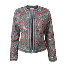 Buy East Reversible Print Jacket, , Soft Celdo Online at johnlewis.com