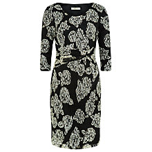Buy Precis Petite Floral Lace Dress, Multi Dark Online at johnlewis.com