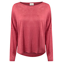 Buy East Oversized Linen Top, Midred Online at johnlewis.com