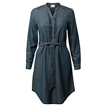 Buy East Chambray Dress, Indigo Online at johnlewis.com
