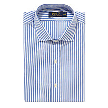 Buy Polo Ralph Lauren City Stripe Poplin Shirt, White/Blue Online at johnlewis.com