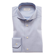 Buy Eton Woven Micro Dot Shirt, Blue/Navy Online at johnlewis.com