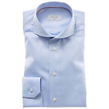 Buy Eton Slim Fit Cotton Poplin Shirt, Blue Online at johnlewis.com