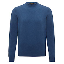 Buy Jaeger Pure Cashmere Crew Neck Jumper Online at johnlewis.com