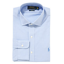 Buy Polo Ralph Lauren Slim Fit Micro Gingham Shirt Online at johnlewis.com