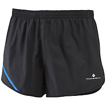 Buy Ronhill Advance Racer Shorts, Black Online at johnlewis.com