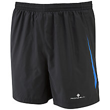 "Buy Ronhill Advance 5"" Running Shorts, Black Online at johnlewis.com"