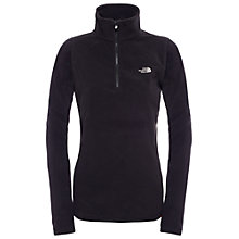 Buy The North Face 100 Glacier 1/4 Zip Fleece, Black Online at johnlewis.com