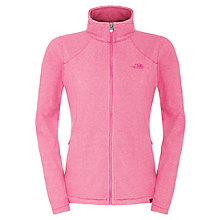 Buy The North Face 100 Glacier Full Zip Fleece, Pink Online at johnlewis.com
