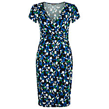 Buy Planet Brush Print Jersey Dress, Multi Online at johnlewis.com